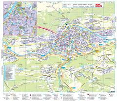 Cable Car Map Innsbruck Tourist Map