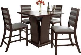 red barrel studio burgess 5 pieces counter height dining set