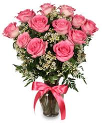 pink and roses roses from blooms florist your local tuscaloosa al