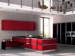 this way the high gloss kitchen is both elegant and robust handle free high gloss kitchen