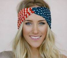 white and blue headband american flag headband clothing shoes accessories ebay