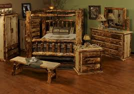 Log Cabin Bedroom Furniture by Rustic Bed Cabin Barnwood Furniture Ranch Amp Lodge Beds Rustic