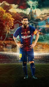 herunterladen hintergrundbild lionel messi barcelona fußball