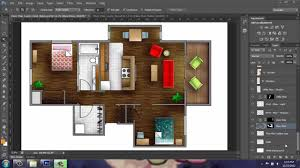 Sample House Floor Plan Adobe Photoshop Cs6 Rendering A Floor Plan Part 1