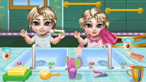 princess elsa twins care android apps on google play