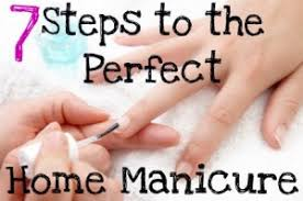 7 steps for the perfect home manicure you put it on