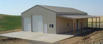 pole barns and garages