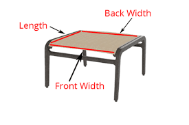 Sling Replacement Outdoor Patio Furniture by Read This Before You Buy Replacement Slings For Your Patio Furniture
