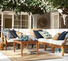 Build Your Own Patio Table Build Your Own Hampstead Teak Sectional Components Honey