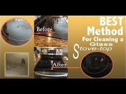 How To Clean A Glass Top Cooktop How To Clean A Glass Top Stove Without Damaging It Youtube