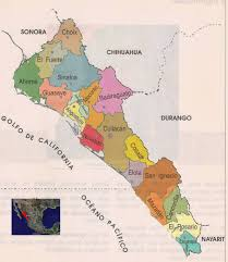 Mexico On Map Sinaloa Mexico Mapa Image Gallery Hcpr