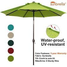 Patio Umbrella Sunbrella Best Sunbrella Umbrellas Patio Market Umbrella Reviews