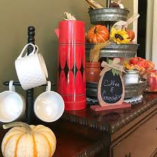 tiered fall beverage bar intelligent domestications