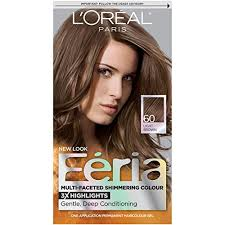 Hair Color Light Brown Amazon Com Feria Hair Color 60 Light Brown Packaging May Vary
