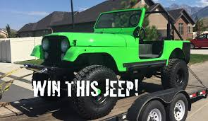 jeep green 2017 introducing our 2017 raffle
