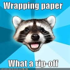 meme wrapping paper lame pun coon gift wrap memebase memes