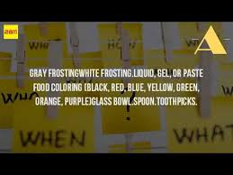 what colors make gray icing youtube
