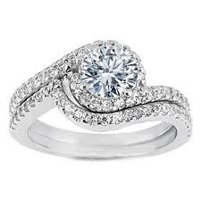 swirl engagement rings engagement ring swirl diamond halo engagement ring and matching
