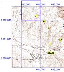 how to read topographic maps how to read utm coordinates on a topographic map topographic map