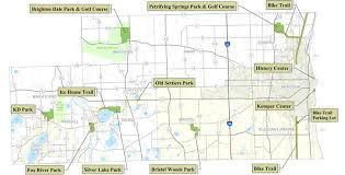 kenosha map county parks kenosha county wi official website