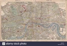 London Bus Map London Town City Plan Underground Railways Stations Bus Routes