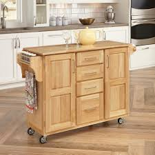 kitchen carts carts islands utility tables the home depot natural
