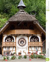 Cuckoo Clock Germany Cuckoo Clock House In Hornberg Stock Photo Image 43579480