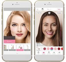 hair and makeup apps corp s makeup app youcam makeup allows the user to