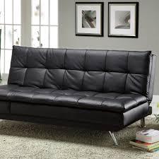 black leather sleeper sofa furniture loveseat sleeper sofa new sofa leather pull out sofa bed