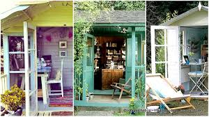 backyard shed office in which you would love work