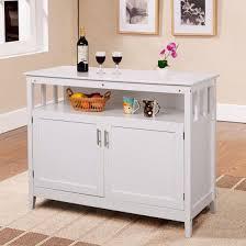 white storage cabinet for kitchen costway modern kitchen storage cabinet buffet server table