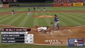 billy hamilton is fastest runner in baseball mlb com