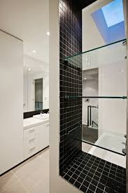 Black And White Tile Bathroom Ideas Wonderful Bathroom Designs Black And White Tiles Mounted Sink