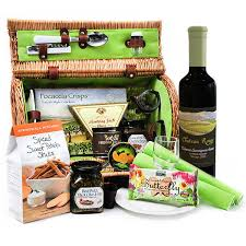 picnic gift basket in the sun picnic basket gourmet gift baskets for all occasions