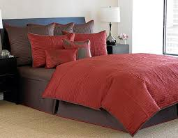 nicole miller soho cranberry duvet cover set free shipping today