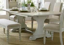 oak trestle dining table lark manor saguenay trestle dining table u0026 reviews wayfair