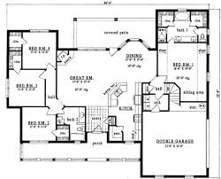 country style house plans 2098 square foot home 2 story 3
