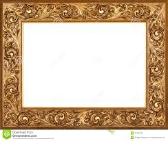 17 victorian style home interior gilded frame stock image