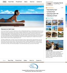 web design templates for hotels by easy branches