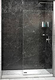 30 Shower Door Celesta Series Sr910 Fixed Glass Bathtub Shower Screen 30 X 76