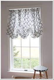 How To Make Balloon Shade Curtains This Is Truly The Easiest No Sew Window Treatment I