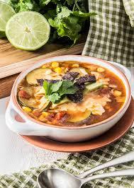 slow cooker tortilla soup vegetarian the scrumptious pumpkin