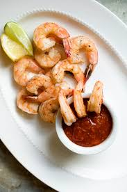 thanksgiving cups roasted shrimp cocktail with sriracha lime dipping sauce 5 easy