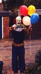 happy birthday creepy clown scary creepy clown stalks uk town of northton your community