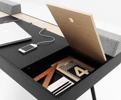Schreibtisch Design Klein Designer Schreibtische In Weiss Schwarz U0026 Eiche Furnier