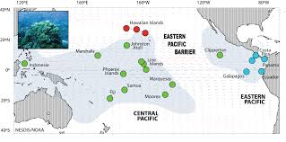Map Of Penn State by Darwin Discovered To Be Right Eastern Pacific Barrier Is