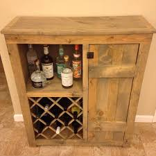 Buffet Bar Cabinet Rustic Cabinet Wine Bar Livingurbanscape Org
