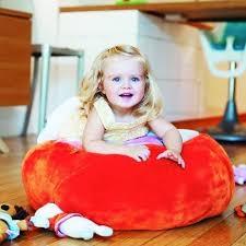 stuffed animal bean bag chair storage in blue b391 or orange