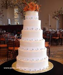 tiered wedding cakes 6 tier wedding cake fall wedding cakes