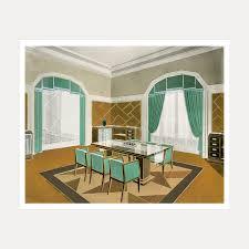 dining room rendering paris c1928 by artist unknown galerie seru